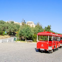Happy Train at Acropolis Hill