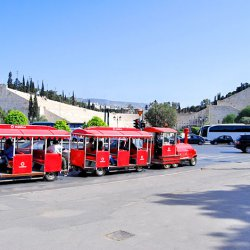 Happy Train at Panathenaec Stadium