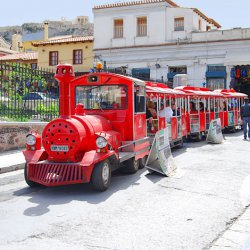 Happy Train at Monastiraki Square